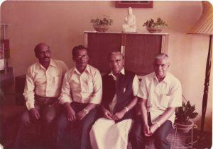 Akilan visit 1975 b